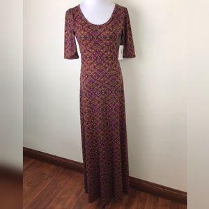 NWT Lularoe Long Ana Dress